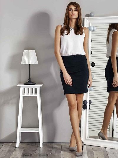 Czarne spódnice: wybierz fason idealny