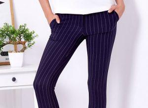 Spodnie eleganckie dobrane do sylwetki