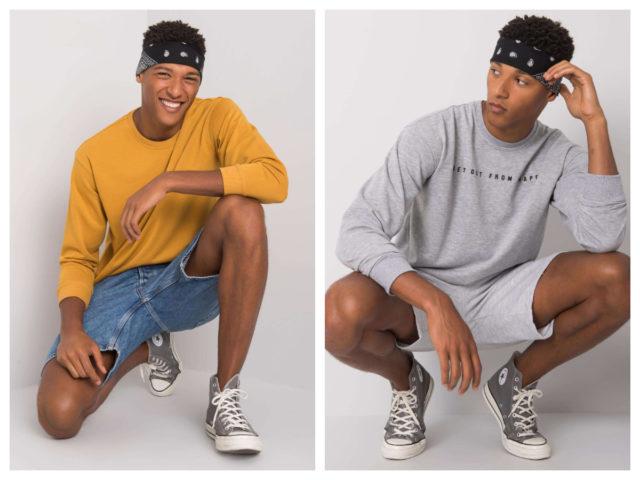 Bluzy bez kaptura męskie – pomysły na stylizacje casual