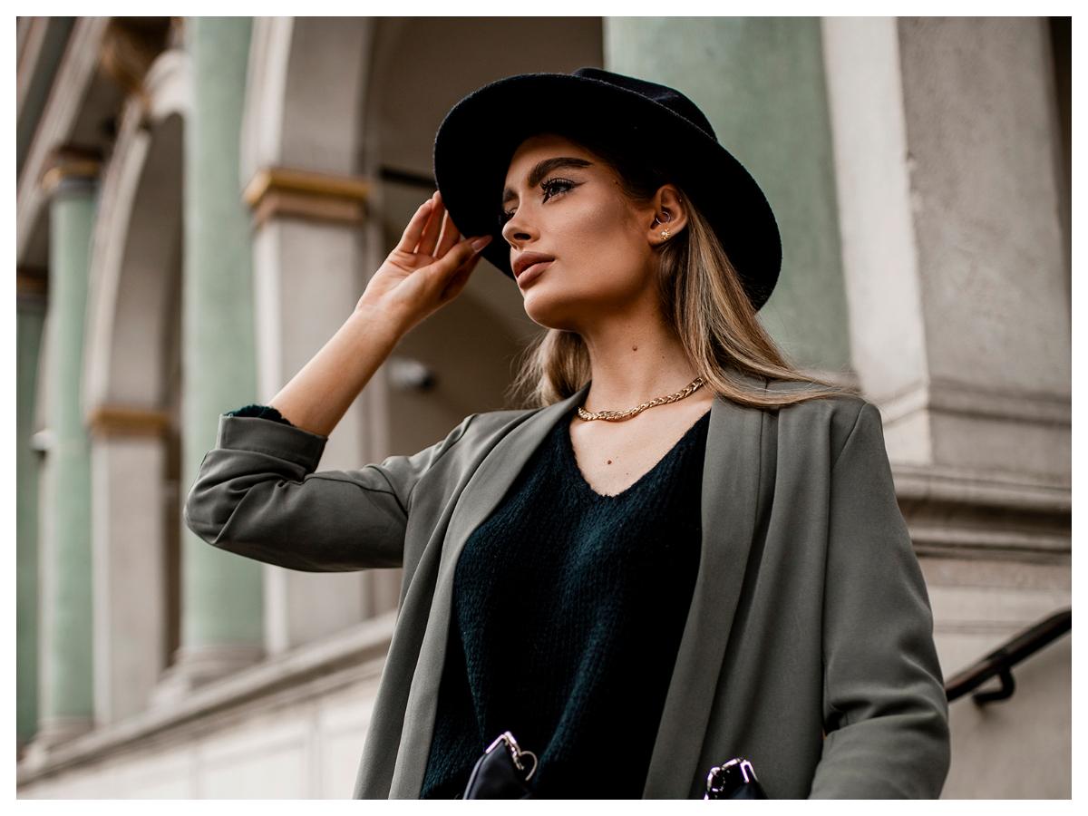 Odzież eko w modzie damskiej czarna